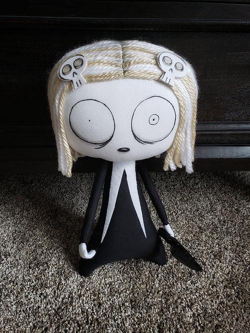 """15"""" Handmade Lenore Doll"""