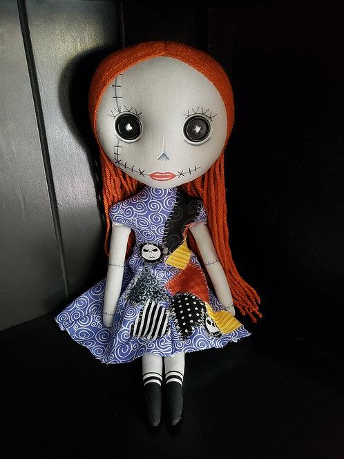 "16"" Handmade Sally (Not Sally) Doll"