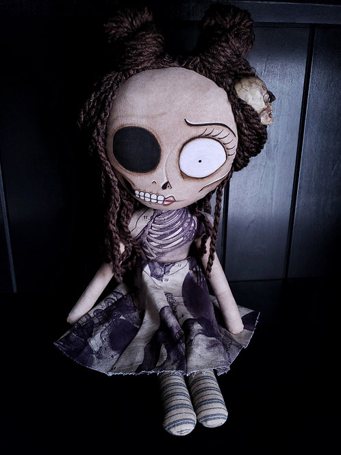 """18"""" Handmade Half-Face Doll"""