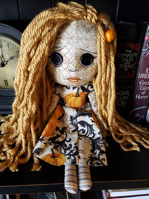 """16"""" Handmade Doll 'Autumn'"""