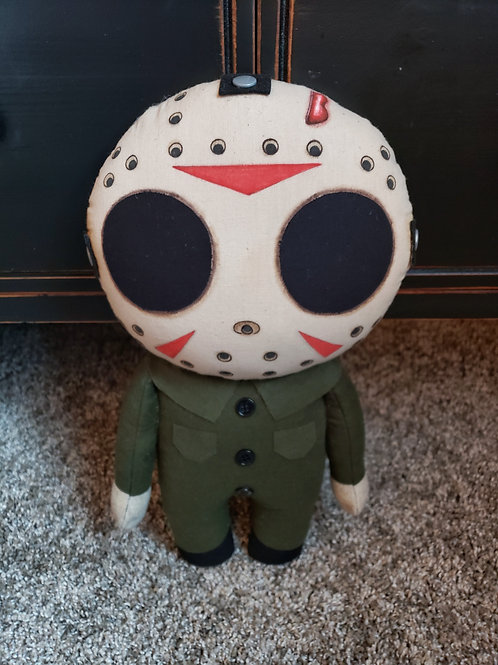 "14"" Handmade Jason Doll"
