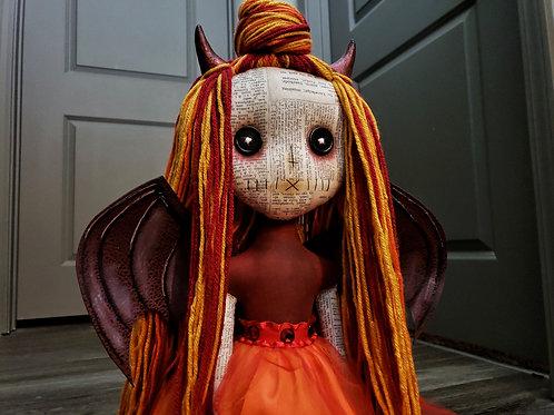 """20"""" Handmade Hell's Belle Doll"""