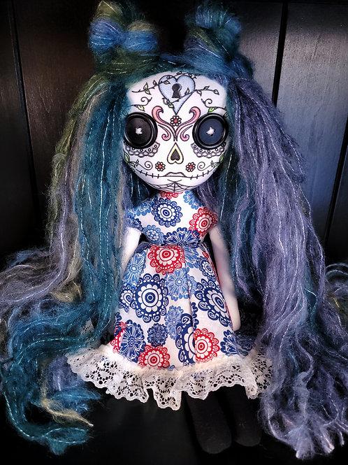 """18"""" Handmade Sugar Skull"""