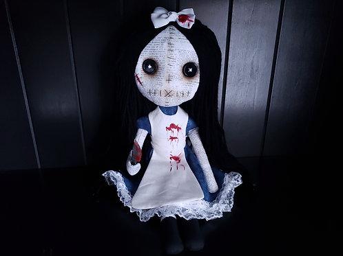 "16"" Handmade Gothic Alice Doll"