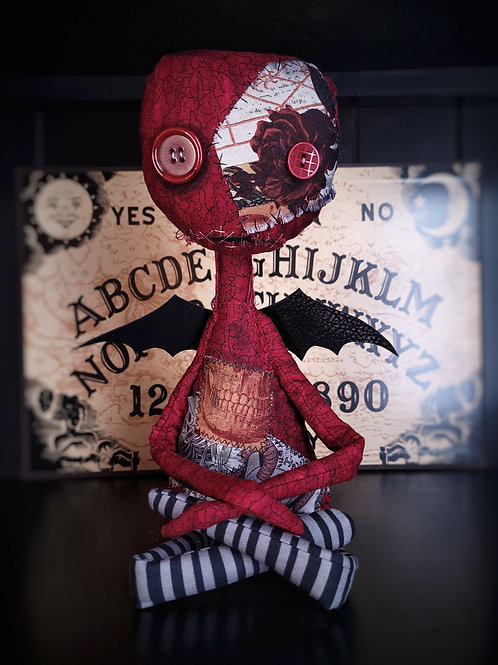 """19"""" Handmade Winged 'Tood Doll (The One That Wants Snacks)"""