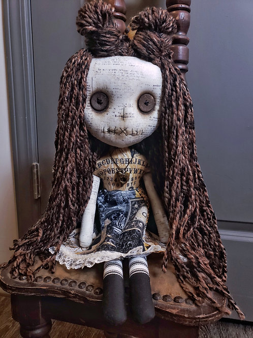 "18"" Handmade Ouija Doll"
