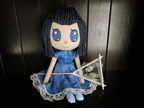 "16"" Handmade Animal Crossing Inspired Doll"