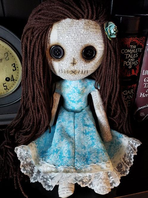 "16"" Grungy Doll - Blue"