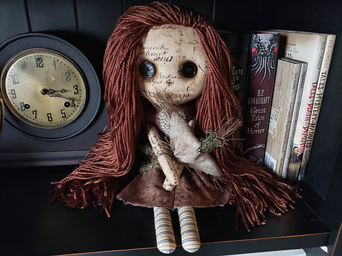 "16"" Handmade Voodoo Doll with Stick Voodoo"