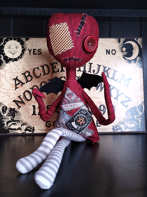 """19"""" Handmade Winged 'Tood Doll (The One With the Clean Wings)"""