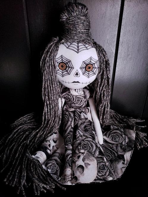 "13"" Handmade Mini Moody Sugar Skull"