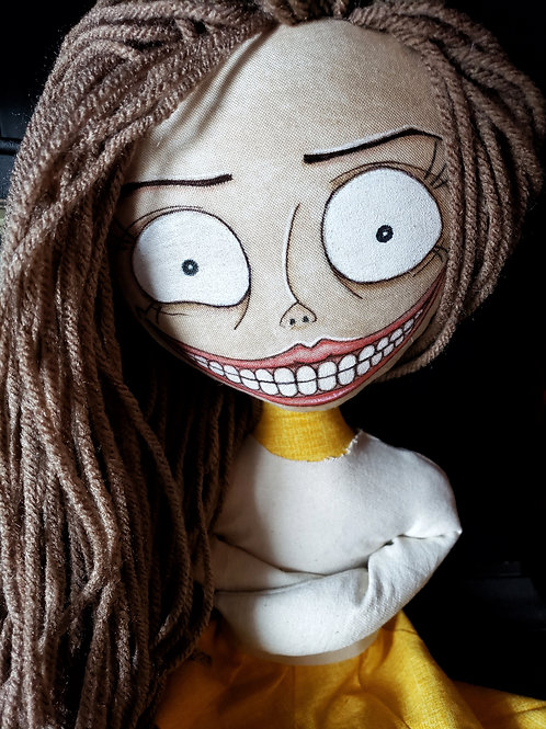 "16"" Handmade ""Crazie"" Doll"