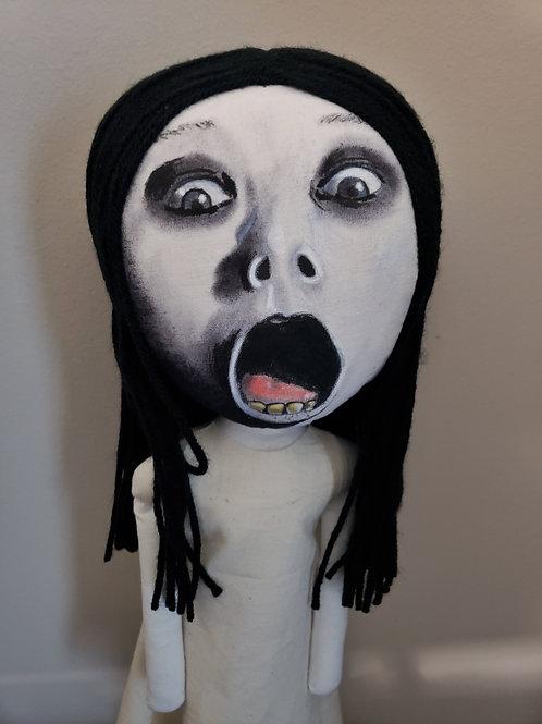 """17.5"""" Handmade Kayako Doll"""