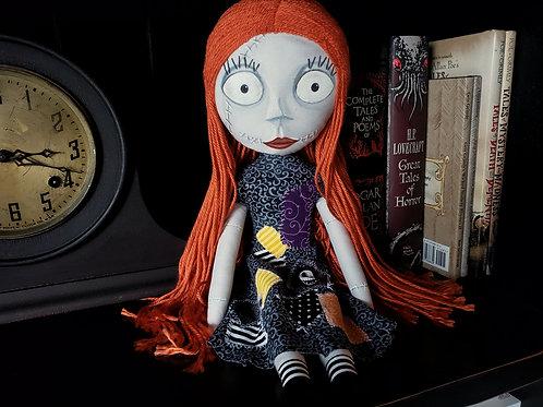 "16"" Handmade ""Not Sally"" Doll"