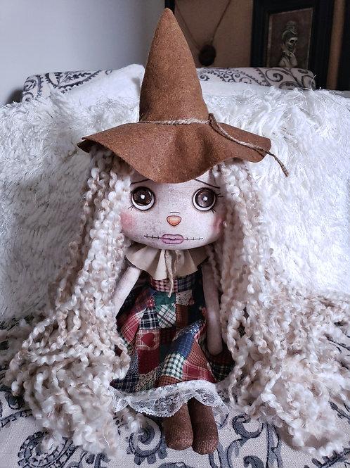 "16"" Handmade Cute Scarecrow Doll"
