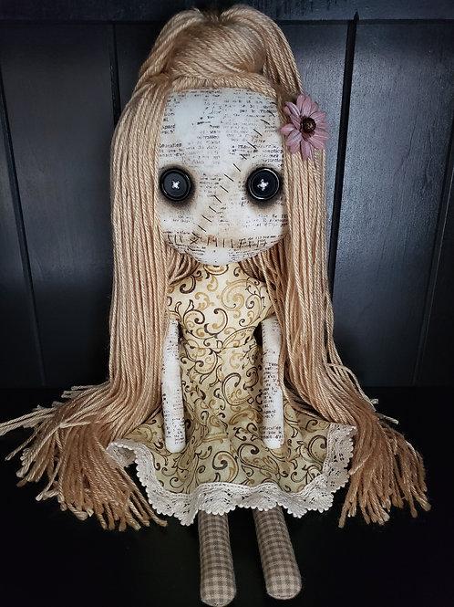 "16"" Handmade Grungy Doll"