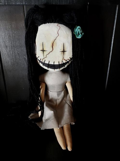 """16"""" Handmade Doll Clay-Face Doll"""