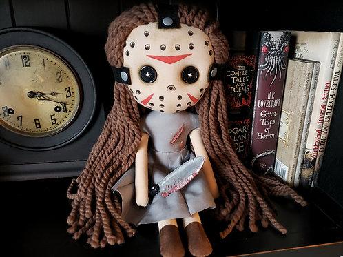 """16"""" Handmade """"Jaisyn"""" Doll with Knife"""