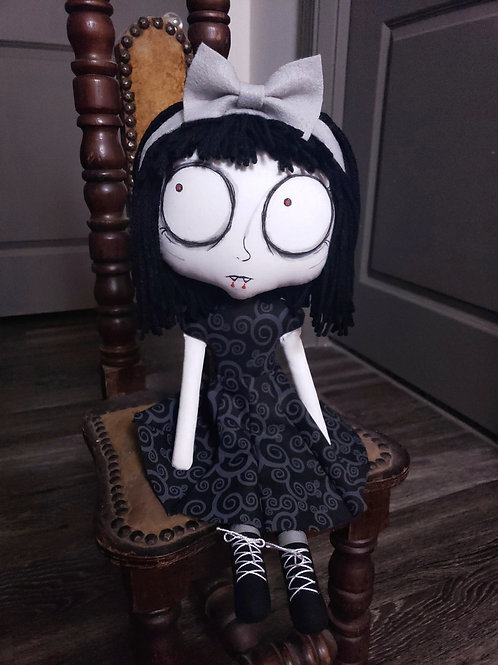 "18"" Handmade Piper Doll"
