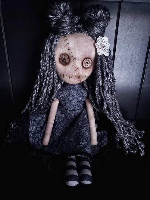 "18"" Handmade Grungy Doll"