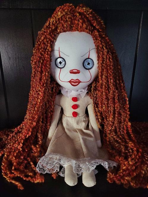 "18"" Handmade Penny Doll"