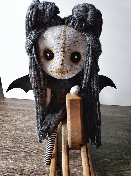 "16"" Handmade Doll Winged Demon"