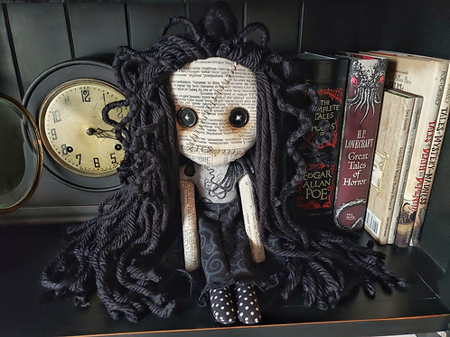 "16"" Handmade Doll (With ""Octopus"" Top/Hair)"