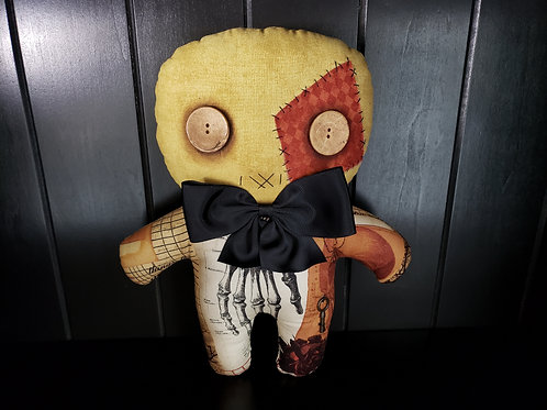 "11"" Handmade Moodie Doll"