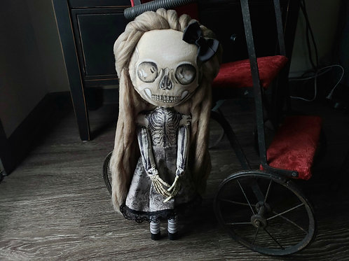 "16"" Handmade Skelton Doll"