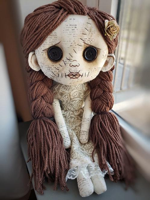 """16"""" Handmade Doll """"Melanie"""""""