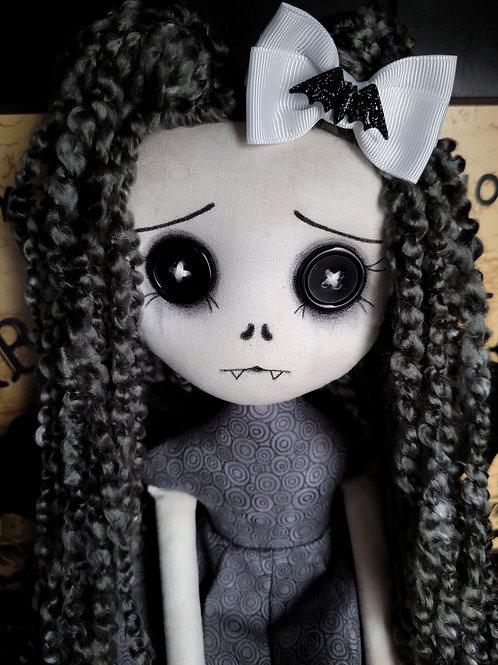 "18"" Handmade Winged Vampire Bat Doll"