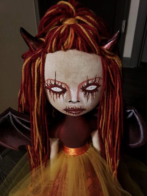 """19"""" Handmade Hell's Belle Doll"""