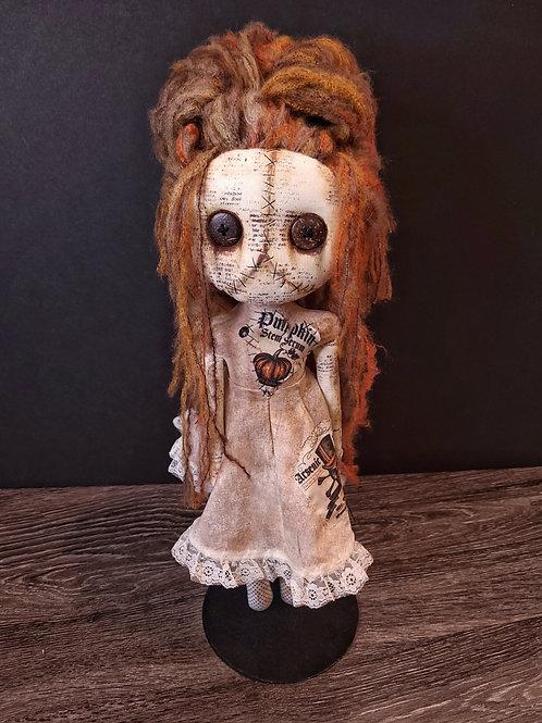 "18"" Handmade Grungy Voodoo Doll"
