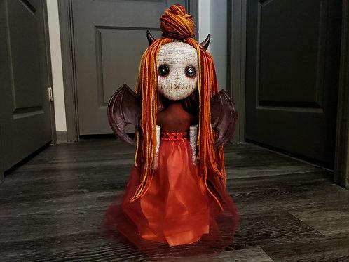 """PRE-ORDER - 20"""" Handmade Hell's Belle Doll"""
