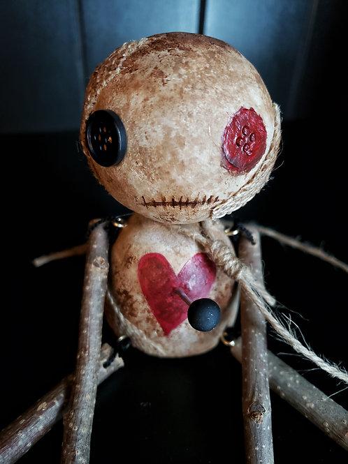 """4"""" Handmade Voodoo Doll 'John'"""
