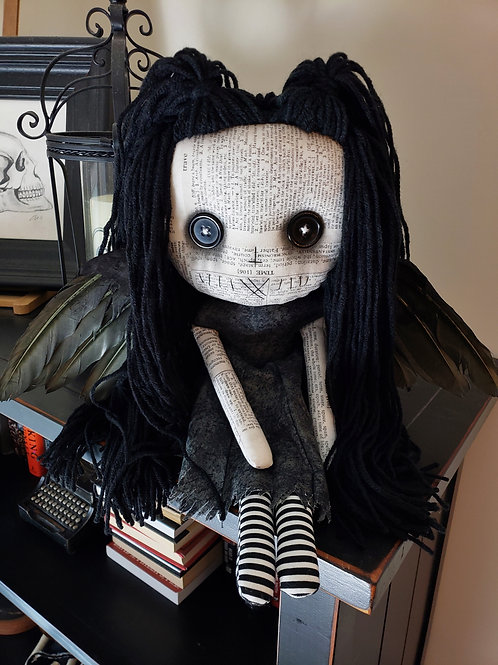 "16"" Handmade Winged Doll"