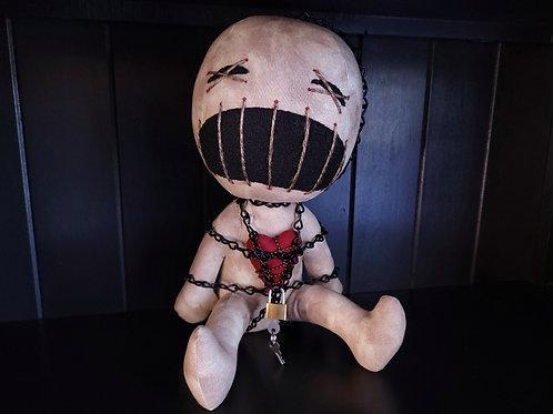 """12"""" Handmade Clive Doll"""