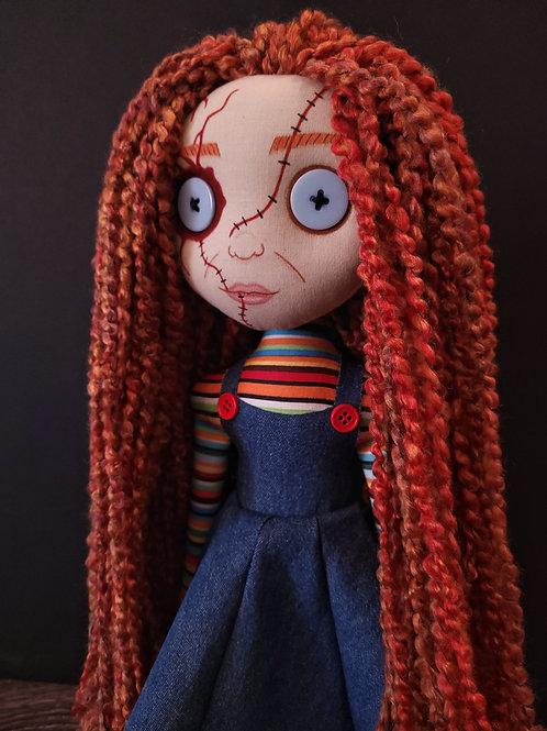 "PRE-ORDER 18"" Handmade ""Charlee"" Doll"