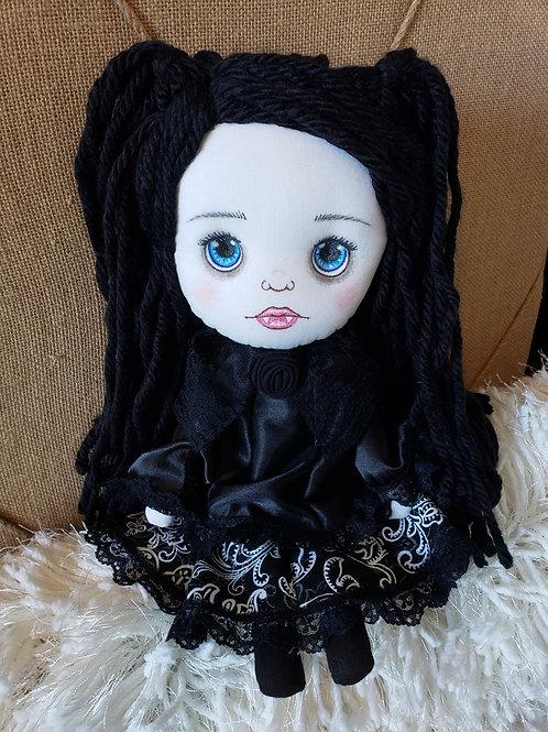 """15"""" Handmade Doll 'The Little Vampire'"""