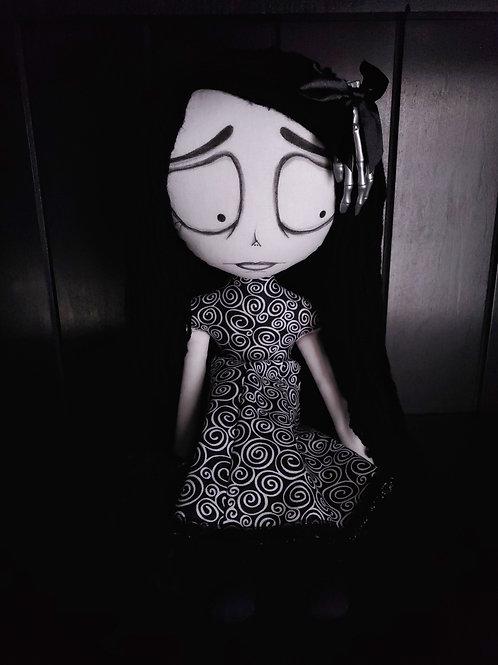 "18"" Handmade Moody Doll"