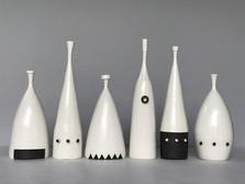 Porcelain bottles