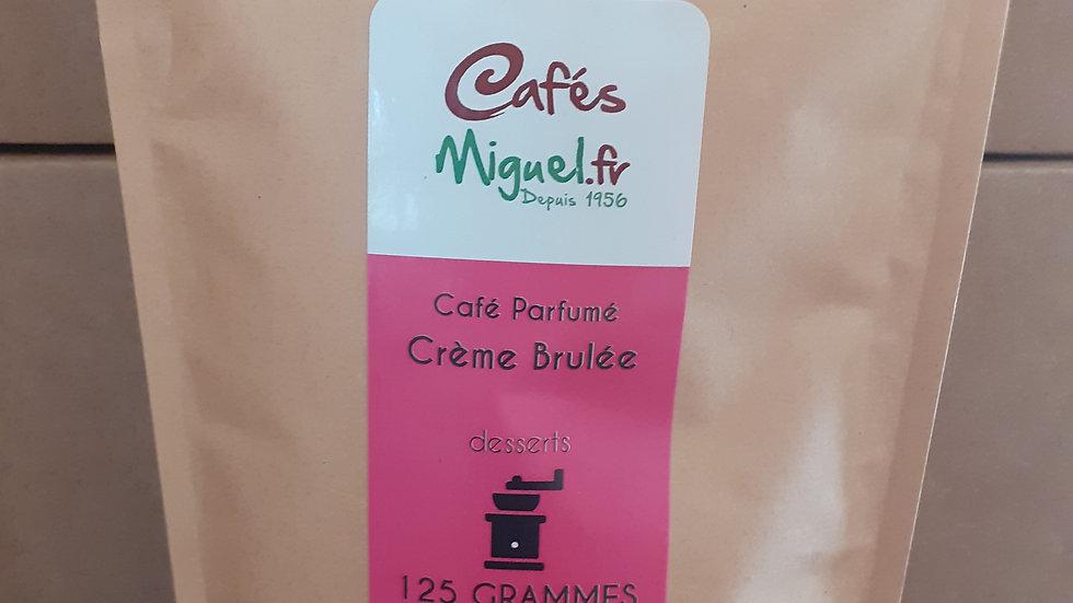 Café aromatisé Crème Brulée