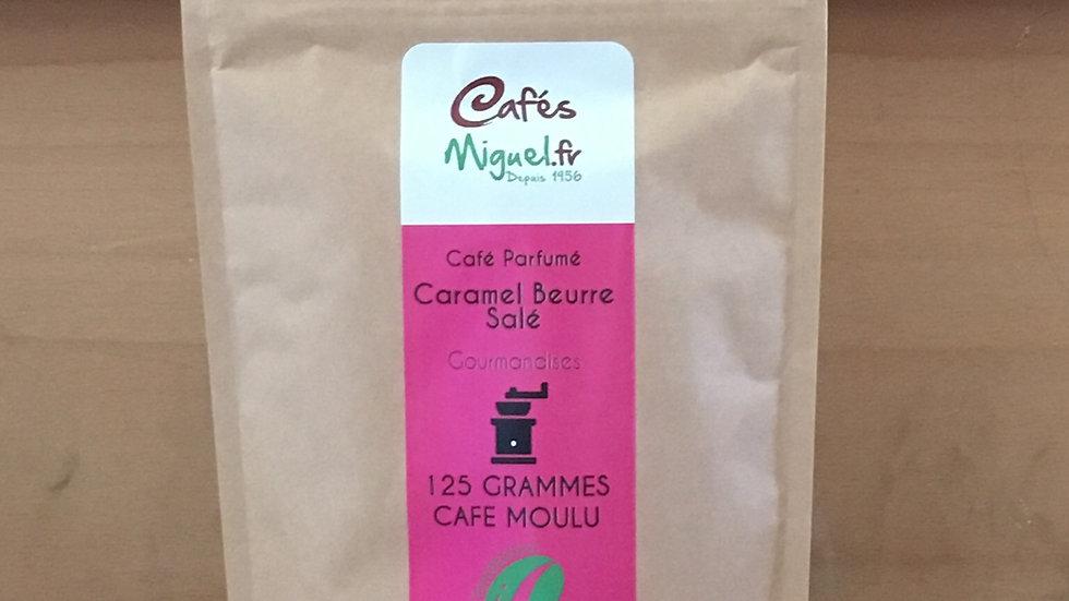 Café aromatisé caramel beurre salé