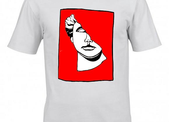 Seeing Red- Dualtone Print- White T-Shirt
