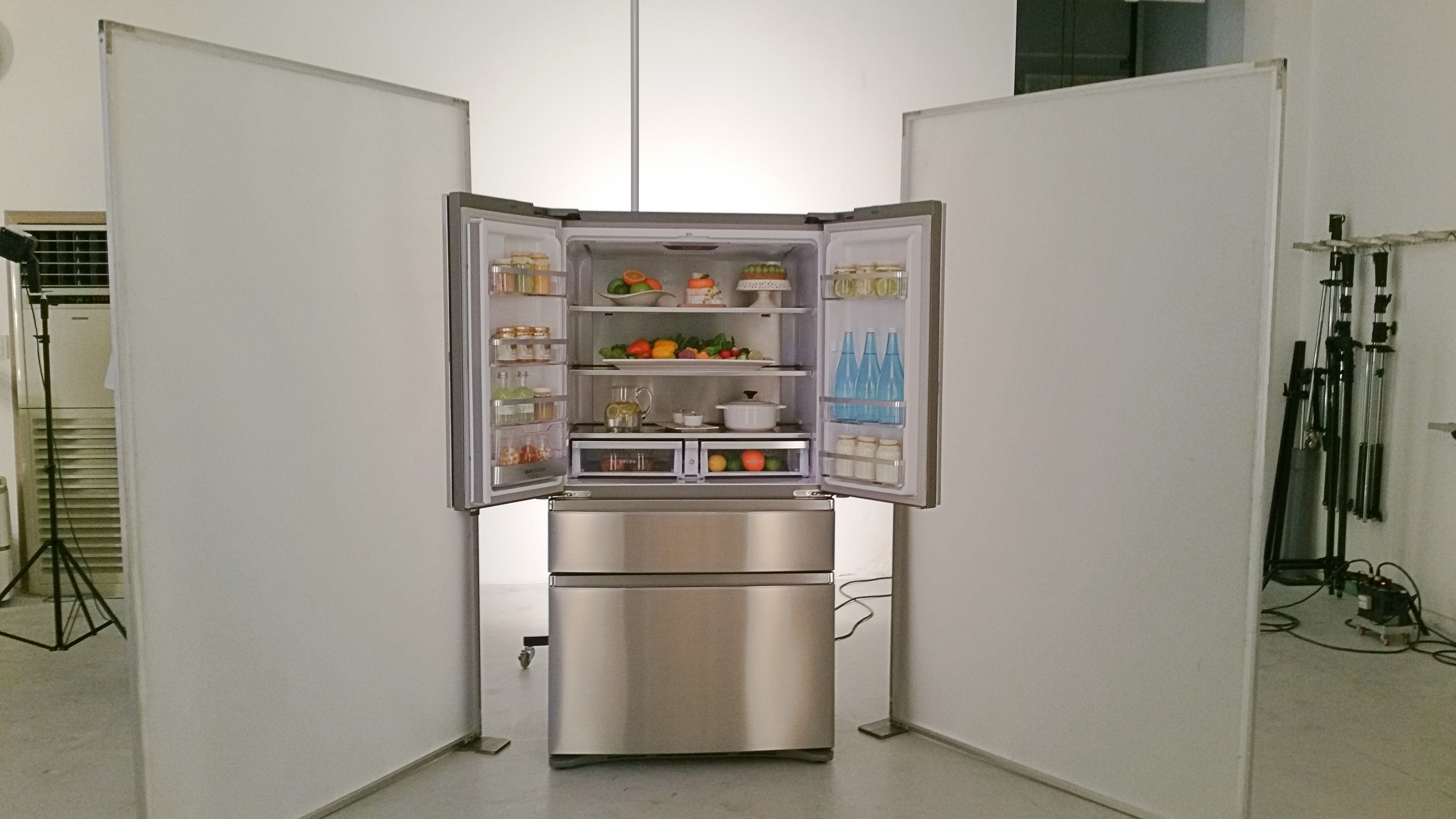 SAMSUNG 냉장고 촬영 현장