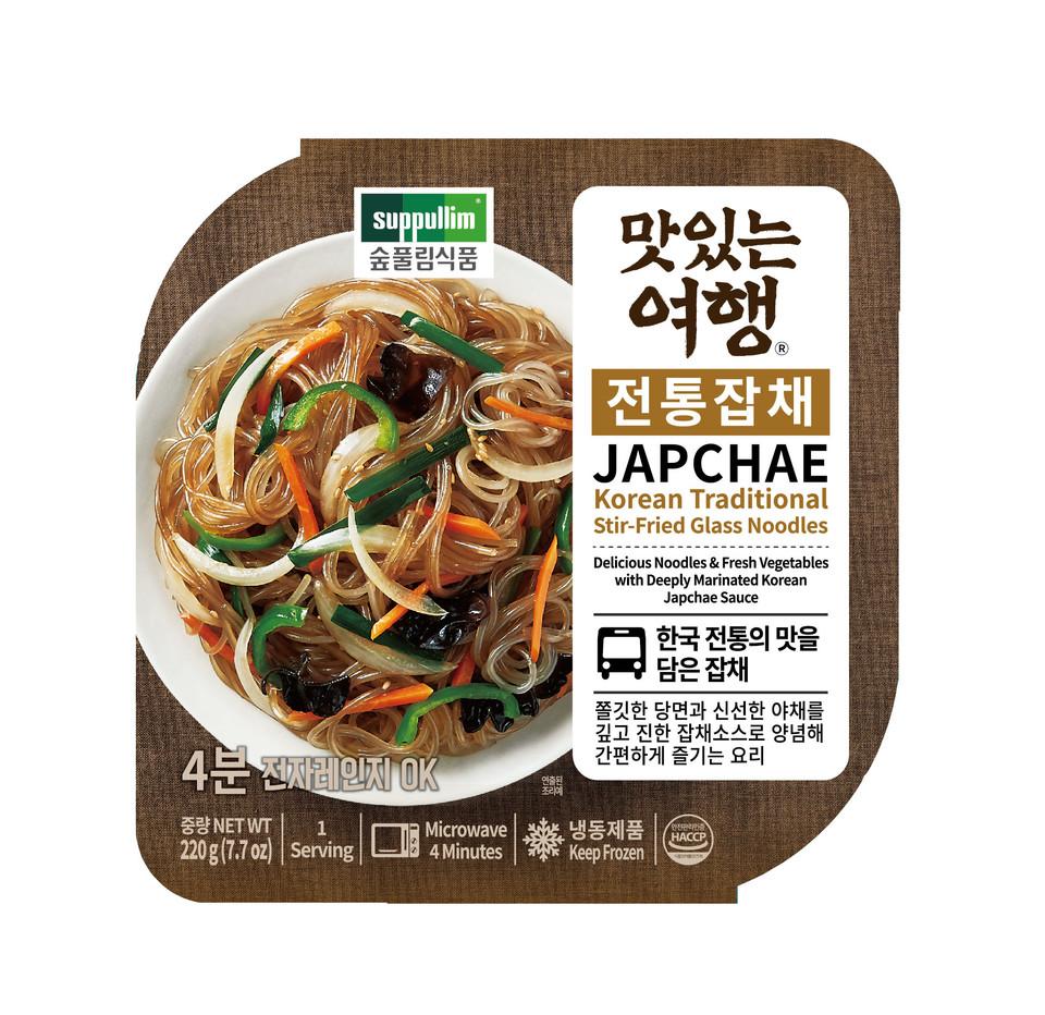 잡채 식품패키지