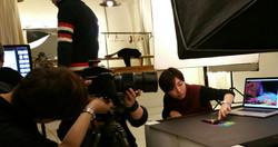 LG 시그니처 올레드 8K 이미지 촬영 현장