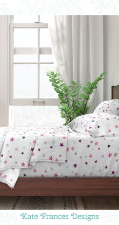 Bedding Set available from Spoonflower.com