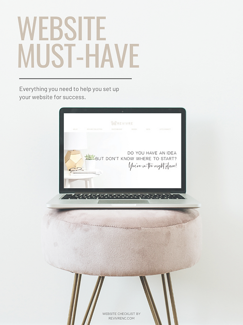 Website Must-Have