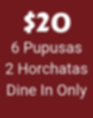 Dine In Special